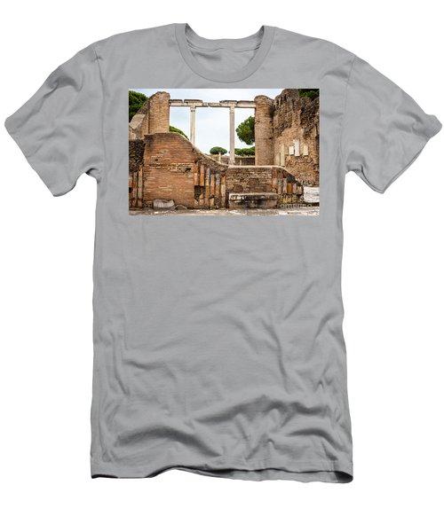 Ruins Of Ostia Antica Men's T-Shirt (Athletic Fit)
