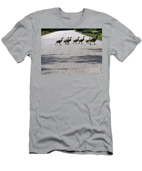 Rural Crossing Men's T-Shirt (Athletic Fit)