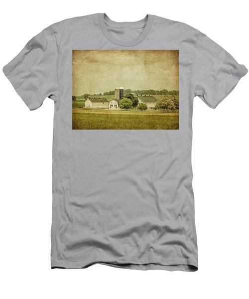 Rustic Farm - Barn Men's T-Shirt (Athletic Fit)