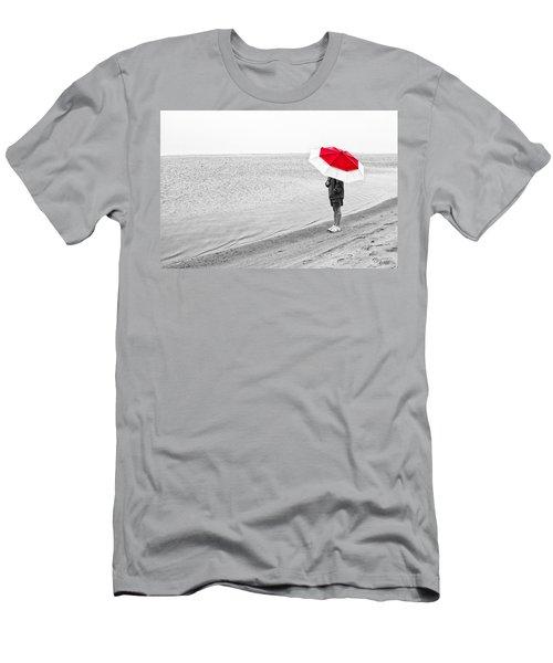 Safe Under The Umbrella Men's T-Shirt (Athletic Fit)