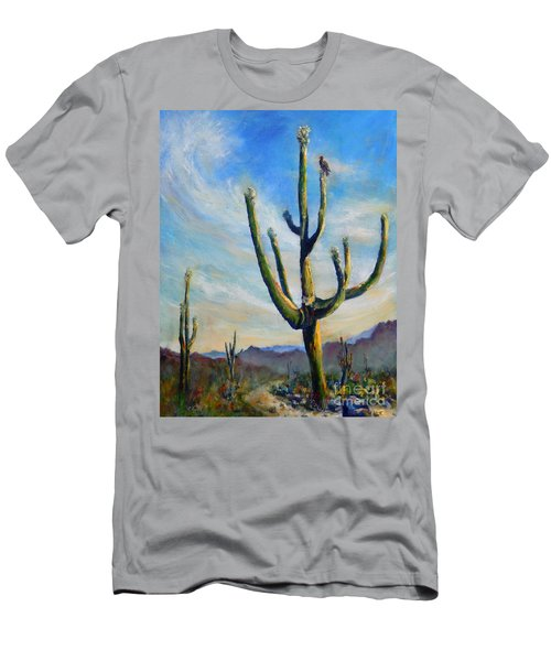 Saguaro Cacti Men's T-Shirt (Athletic Fit)