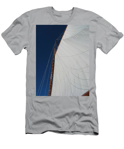 Men's T-Shirt (Slim Fit) featuring the photograph Sail Away With Me by Photographic Arts And Design Studio