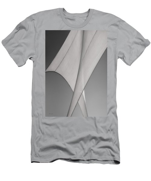Sailcloth Abstract Number 3 Men's T-Shirt (Athletic Fit)