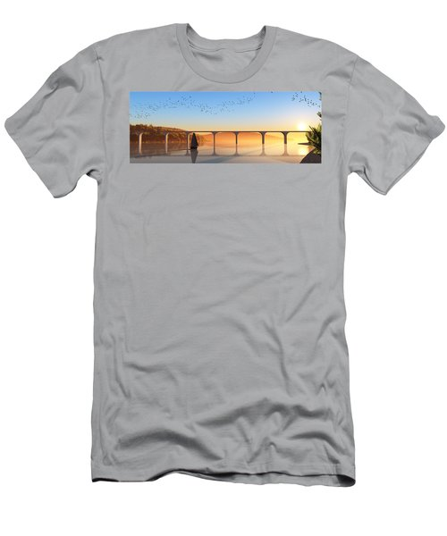 Sailing Out To Sea... Men's T-Shirt (Athletic Fit)