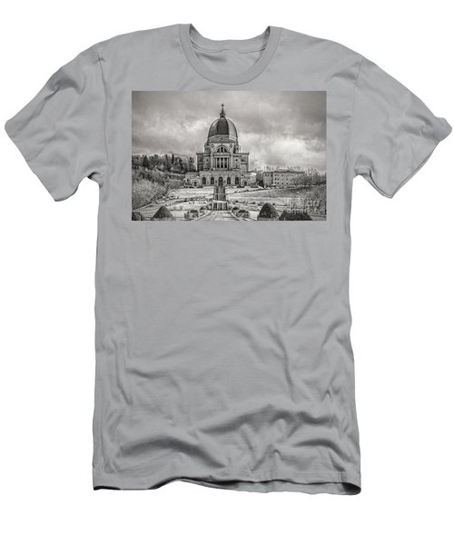 Saint Joseph Oratory Men's T-Shirt (Athletic Fit)