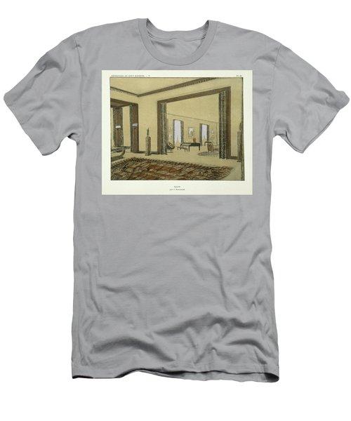 Salon, From Repertoire Of Modern Taste Men's T-Shirt (Athletic Fit)