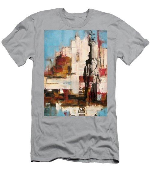San Diego City Collage 2 Men's T-Shirt (Athletic Fit)