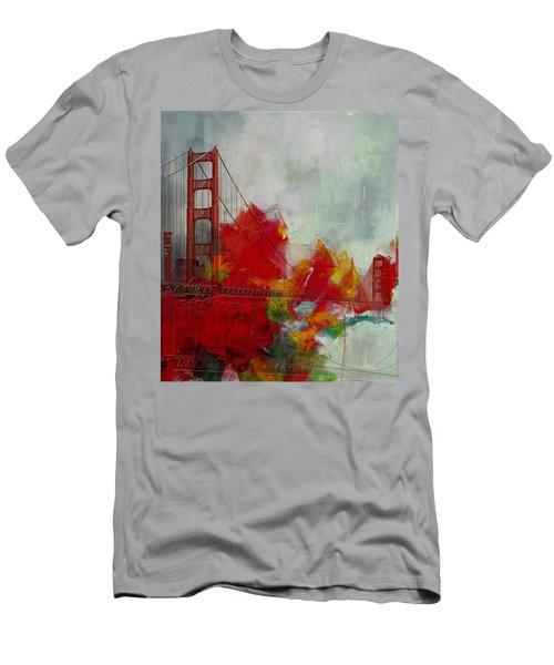 San Francisco City Collage Men's T-Shirt (Athletic Fit)
