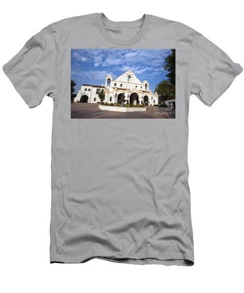 San Gabriel Mission Playhouse Men's T-Shirt (Athletic Fit)