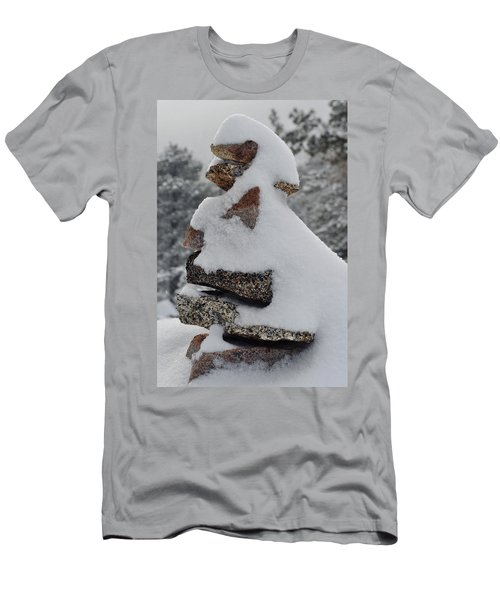 Men's T-Shirt (Slim Fit) featuring the photograph San Jacinto Balanced Rocks by Kyle Hanson