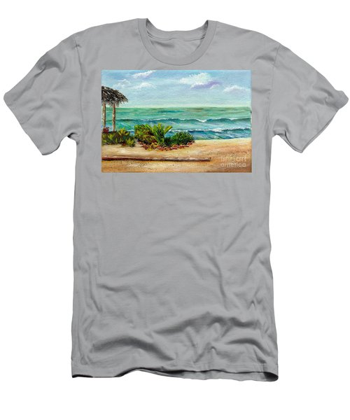 San Onofre Beach Men's T-Shirt (Athletic Fit)