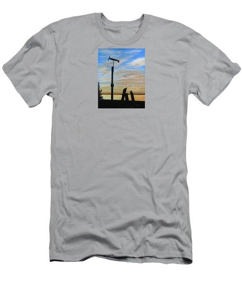 San Onofre Sunrise Men's T-Shirt (Athletic Fit)