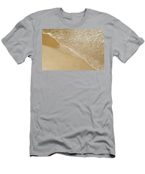 Sand Beach Men's T-Shirt (Athletic Fit)