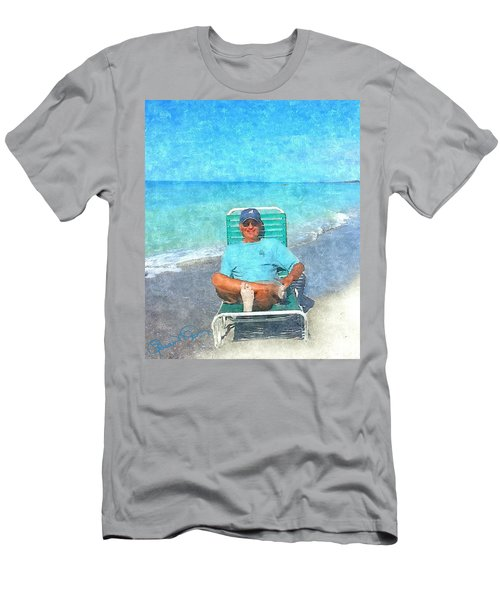 Sand Between Your Toes Men's T-Shirt (Athletic Fit)