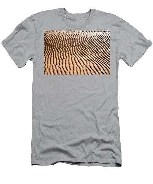 Sand Ripples Men's T-Shirt (Athletic Fit)