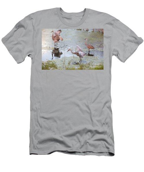 Sandhill Excursion Men's T-Shirt (Athletic Fit)