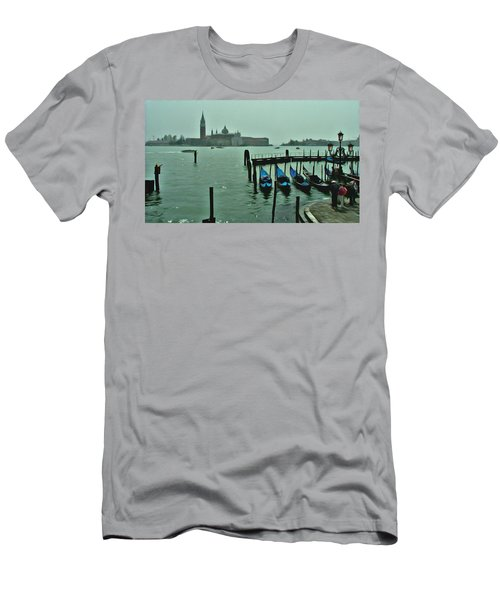 Men's T-Shirt (Slim Fit) featuring the photograph Sanding By by Brian Reaves