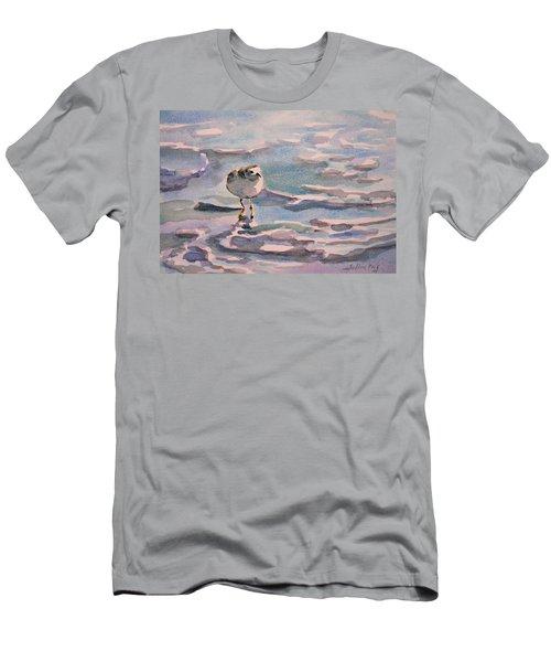 Sandpiper And Seafoam 3-8-15 Men's T-Shirt (Athletic Fit)