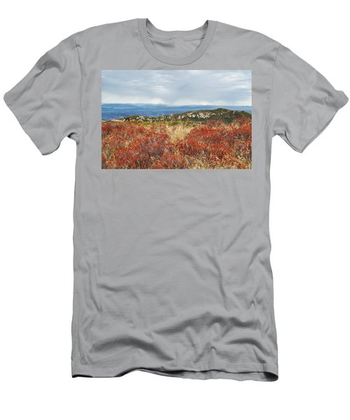 Sandstone Peak Fall Landscape Men's T-Shirt (Athletic Fit)