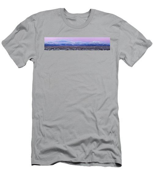 Sangre De Cristo Range After Sunset Men's T-Shirt (Athletic Fit)