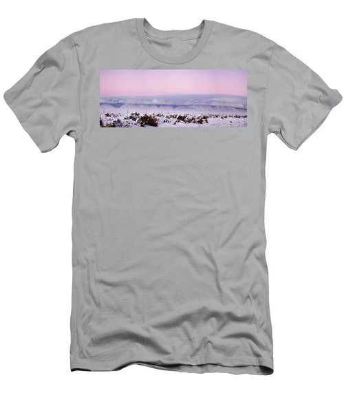Sangre De Cristo Range With Clouds Men's T-Shirt (Athletic Fit)