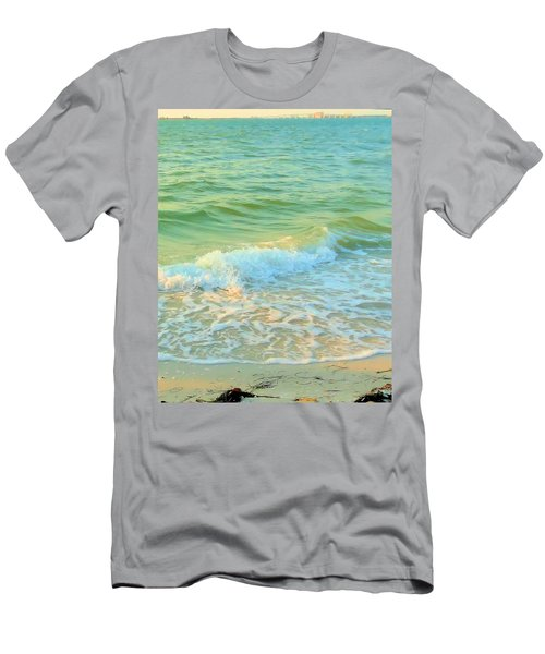 Men's T-Shirt (Slim Fit) featuring the photograph Sanibel At Sunset by Janette Boyd