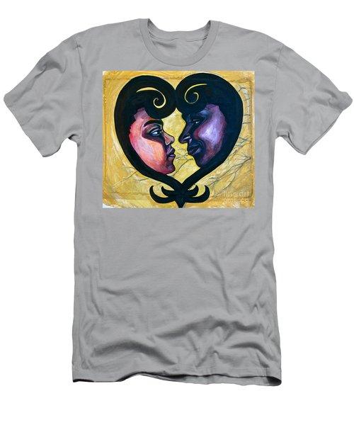 Sankofa Love Men's T-Shirt (Athletic Fit)