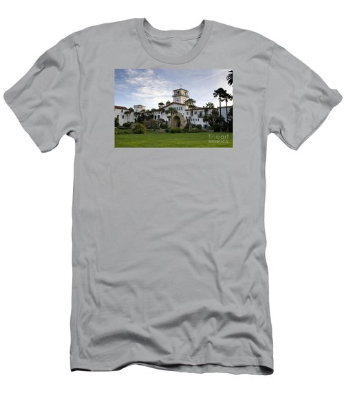 Men's T-Shirt (Slim Fit) featuring the photograph Santa Barbara by David Millenheft