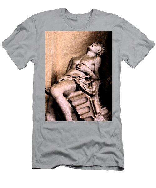 Santa Croche Sculpture Men's T-Shirt (Athletic Fit)
