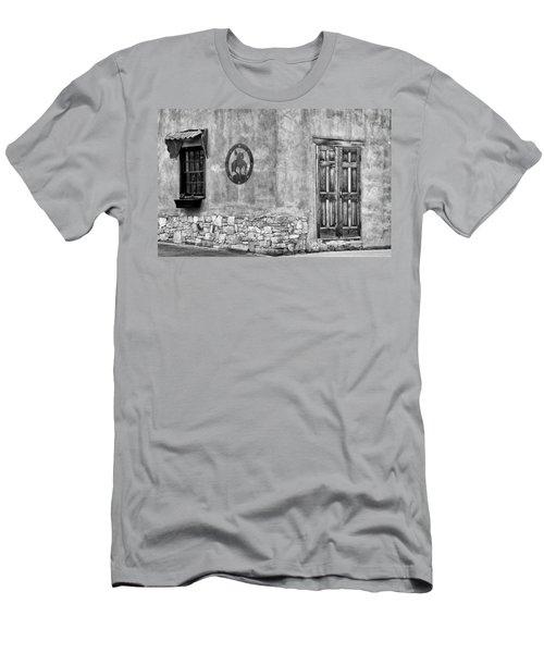 Men's T-Shirt (Slim Fit) featuring the photograph Santa Fe New Mexico Street Corner by Ron White