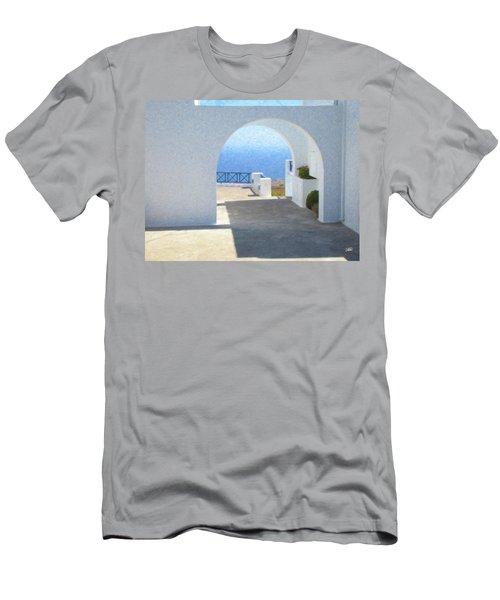 Santorini Grk8681 Men's T-Shirt (Athletic Fit)