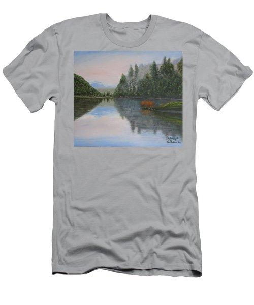 Sarita Lake On Vancouver Island Men's T-Shirt (Athletic Fit)