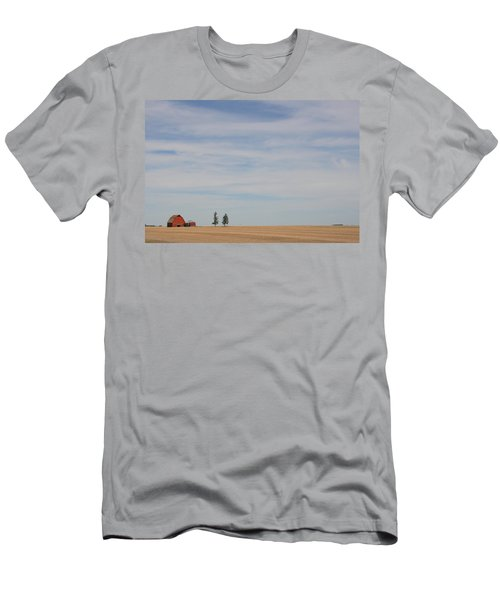 Saskatchewan Men's T-Shirt (Slim Fit) by Betty-Anne McDonald
