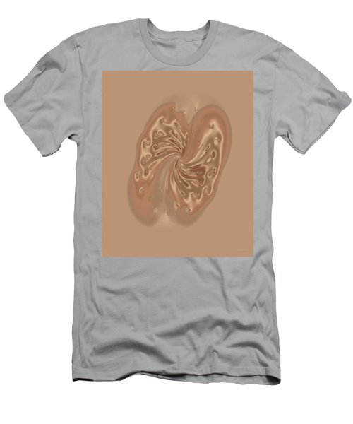 Satin Butterfly Men's T-Shirt (Slim Fit) by Judi Suni Hall