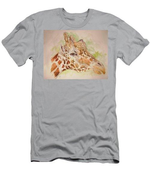 Savanna Giraffe Men's T-Shirt (Athletic Fit)