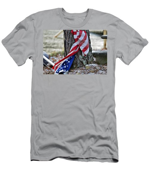Save The Flag Men's T-Shirt (Athletic Fit)