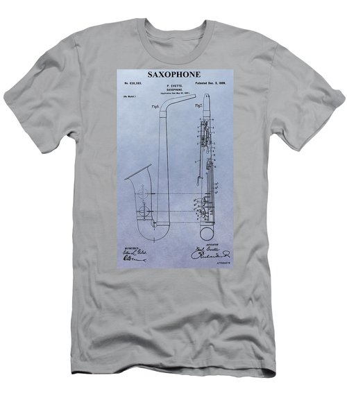 Saxophone Men's T-Shirt (Athletic Fit)