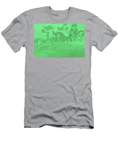 Scene In Green Men's T-Shirt (Athletic Fit)