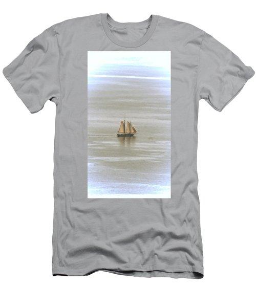 Schooner 1 Men's T-Shirt (Slim Fit) by Joe Faherty