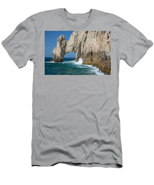 Sea Arch El Arco De Cabo San Lucas Men's T-Shirt (Athletic Fit)