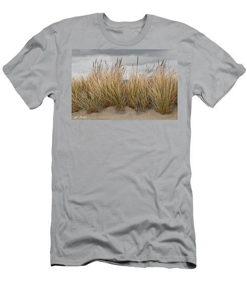 Sea Grass And Sand Men's T-Shirt (Athletic Fit)