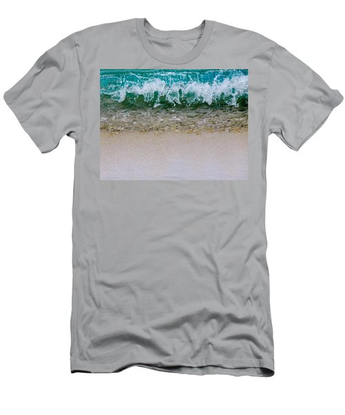 Sea Shore Colors Men's T-Shirt (Athletic Fit)