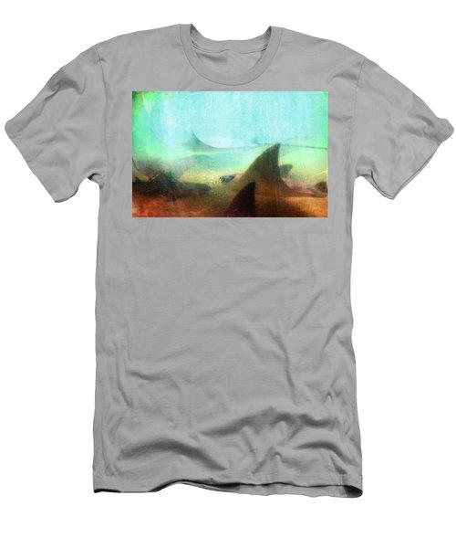 Sea Spirits - Manta Ray Art By Sharon Cummings Men's T-Shirt (Athletic Fit)