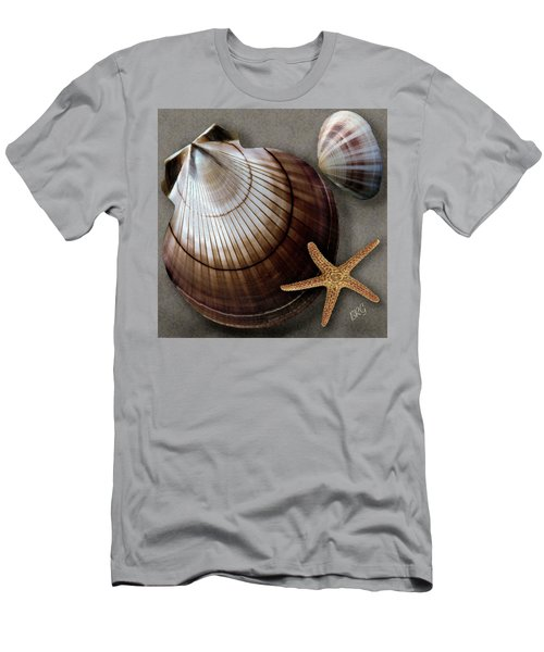 Men's T-Shirt (Athletic Fit) featuring the photograph Seashells Spectacular No 38 by Ben and Raisa Gertsberg
