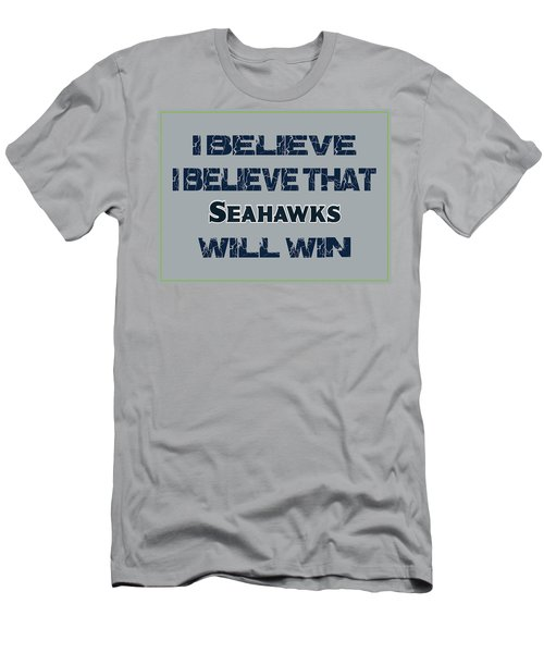 Seattle Seahawks I Believe Men's T-Shirt (Athletic Fit)