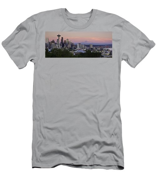 Seattle Sunset - Kerry Park Men's T-Shirt (Athletic Fit)