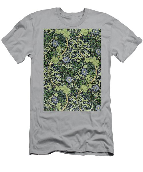 Seaweed Wallpaper Design Men's T-Shirt (Athletic Fit)
