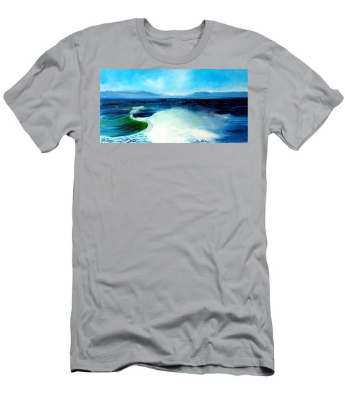 Secret Beach Surf Art Men's T-Shirt (Athletic Fit)