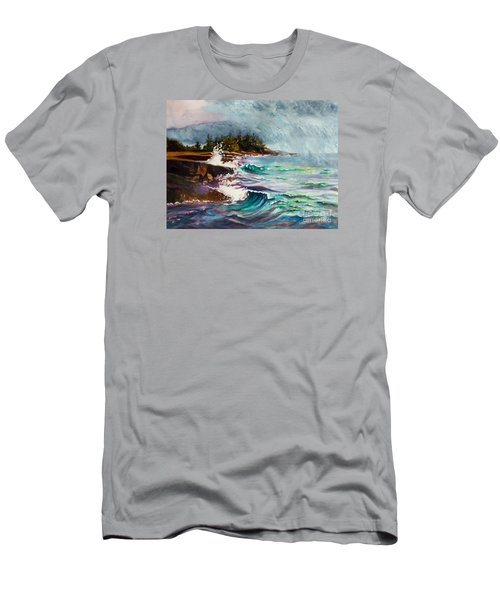 September Storm Lake Superior Men's T-Shirt (Athletic Fit)