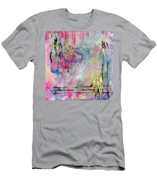 Serene Mist Encaustic Men's T-Shirt (Athletic Fit)